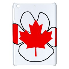 Mega Paw Canadian Flag Apple iPad Mini Hardshell Case