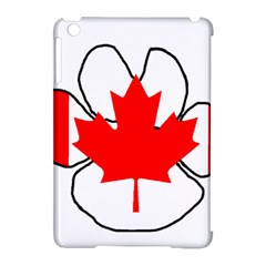 Mega Paw Canadian Flag Apple iPad Mini Hardshell Case (Compatible with Smart Cover)