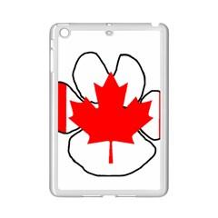 Mega Paw Canadian Flag iPad Mini 2 Enamel Coated Cases