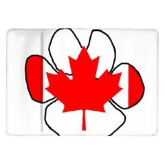 Mega Paw Canadian Flag Samsung Galaxy Tab 10.1  P7500 Flip Case