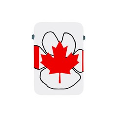 Mega Paw Canadian Flag Apple iPad Mini Protective Soft Cases