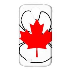 Mega Paw Canadian Flag Samsung Galaxy S4 Classic Hardshell Case (PC+Silicone)