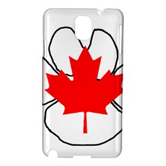 Mega Paw Canadian Flag Samsung Galaxy Note 3 N9005 Hardshell Case