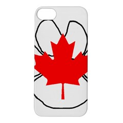 Mega Paw Canadian Flag Apple iPhone 5S/ SE Hardshell Case