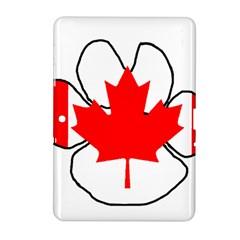 Mega Paw Canadian Flag Samsung Galaxy Tab 2 (10.1 ) P5100 Hardshell Case