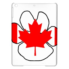 Mega Paw Canadian Flag iPad Air Hardshell Cases