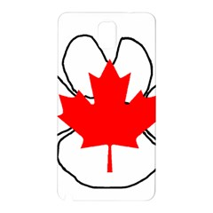 Mega Paw Canadian Flag Samsung Galaxy Note 3 N9005 Hardshell Back Case