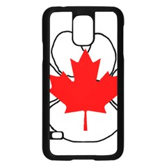 Mega Paw Canadian Flag Samsung Galaxy S5 Case (Black)