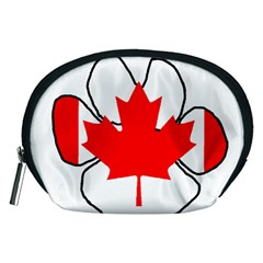 Mega Paw Canadian Flag Accessory Pouches (Medium)