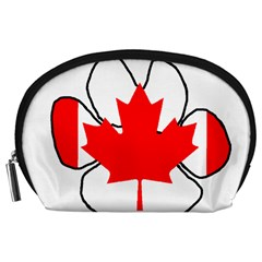 Mega Paw Canadian Flag Accessory Pouches (Large)