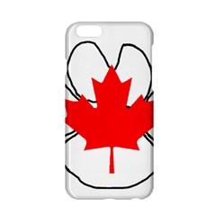 Mega Paw Canadian Flag Apple iPhone 6/6S Hardshell Case