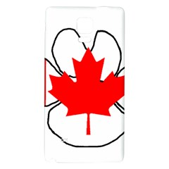 Mega Paw Canadian Flag Galaxy Note 4 Back Case
