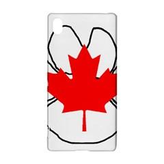 Mega Paw Canadian Flag Sony Xperia Z3+