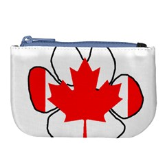 Mega Paw Canadian Flag Large Coin Purse