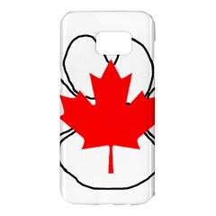 Mega Paw Canadian Flag Samsung Galaxy S7 Edge Hardshell Case