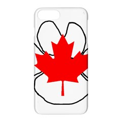 Mega Paw Canadian Flag Apple iPhone 7 Plus Hardshell Case