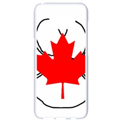 Mega Paw Canadian Flag Samsung Galaxy S8 White Seamless Case