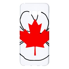 Mega Paw Canadian Flag Samsung Galaxy S8 Plus Hardshell Case