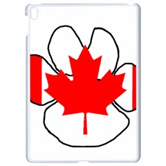 Mega Paw Canadian Flag Apple iPad Pro 9.7   White Seamless Case