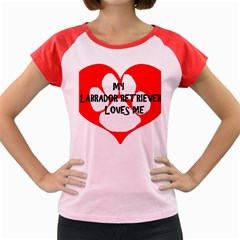 My Lab Loves Me Women s Cap Sleeve T-Shirt