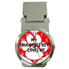 My Lab Loves Me Money Clip Watches