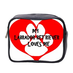 My Lab Loves Me Mini Toiletries Bag 2-Side