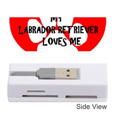 My Lab Loves Me Memory Card Reader (Stick)
