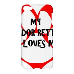 My Lab Loves Me Apple iPod Touch 5 Hardshell Case