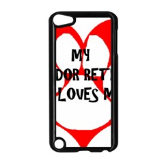 My Lab Loves Me Apple iPod Touch 5 Case (Black)