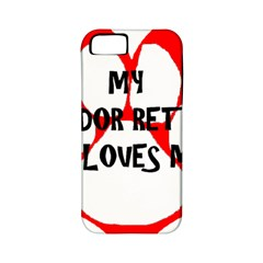 My Lab Loves Me Apple iPhone 5 Classic Hardshell Case (PC+Silicone)