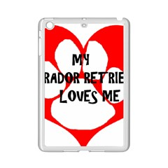 My Lab Loves Me iPad Mini 2 Enamel Coated Cases
