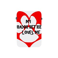 My Lab Loves Me Apple iPad Mini Protective Soft Cases