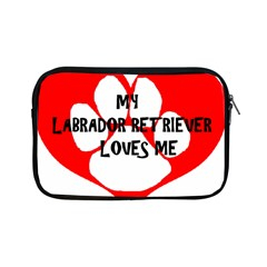 My Lab Loves Me Apple iPad Mini Zipper Cases