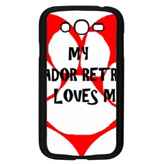 My Lab Loves Me Samsung Galaxy Grand DUOS I9082 Case (Black)