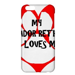 My Lab Loves Me Apple iPhone 6 Plus/6S Plus Hardshell Case