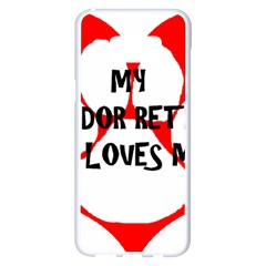 My Lab Loves Me Samsung Galaxy S8 Plus White Seamless Case
