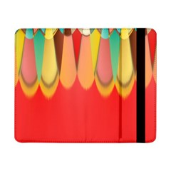 Colors On Red Samsung Galaxy Tab Pro 8.4  Flip Case