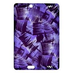 Purple Paint Strokes Amazon Kindle Fire HD (2013) Hardshell Case