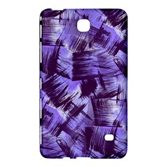 Purple Paint Strokes Samsung Galaxy Tab 4 (8 ) Hardshell Case