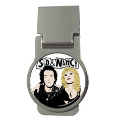 Sid and Nancy Money Clips (Round)