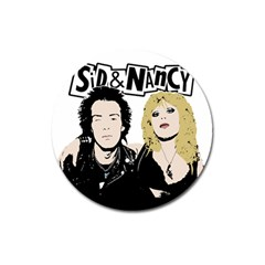 Sid and Nancy Magnet 3  (Round)