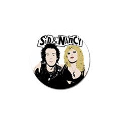 Sid and Nancy Golf Ball Marker (4 pack)