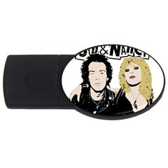 Sid and Nancy USB Flash Drive Oval (1 GB)