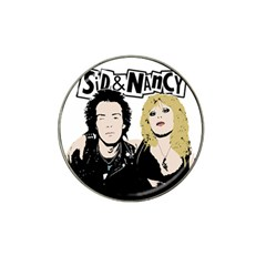 Sid and Nancy Hat Clip Ball Marker