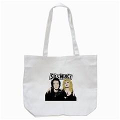 Sid and Nancy Tote Bag (White)
