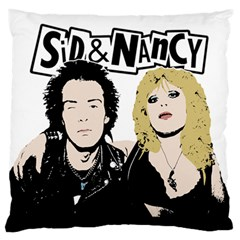 Sid and Nancy Standard Flano Cushion Case (Two Sides)