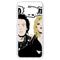 Sid And Nancy Samsung Galaxy S8 White Seamless Case