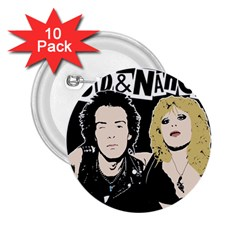Sid and Nancy 2.25  Buttons (10 pack)