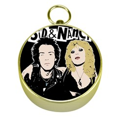Sid and Nancy Gold Compasses