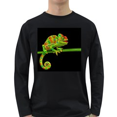 Chameleons Long Sleeve Dark T-Shirts